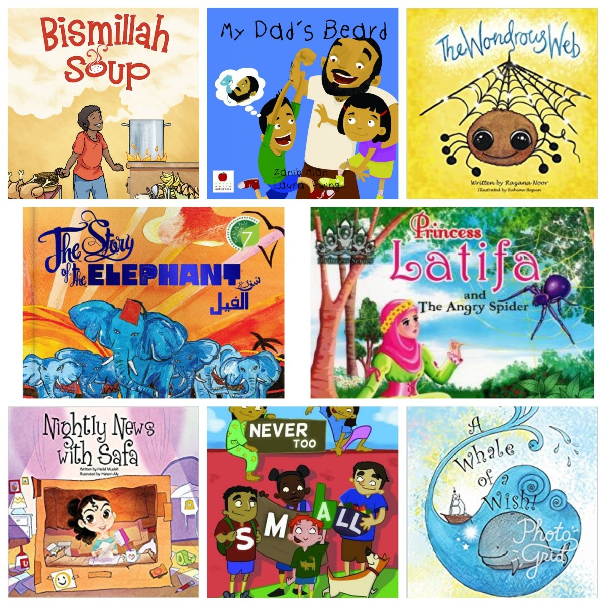 Our Top 10 Awesome Children's Islamic Story Books we highly recommend!